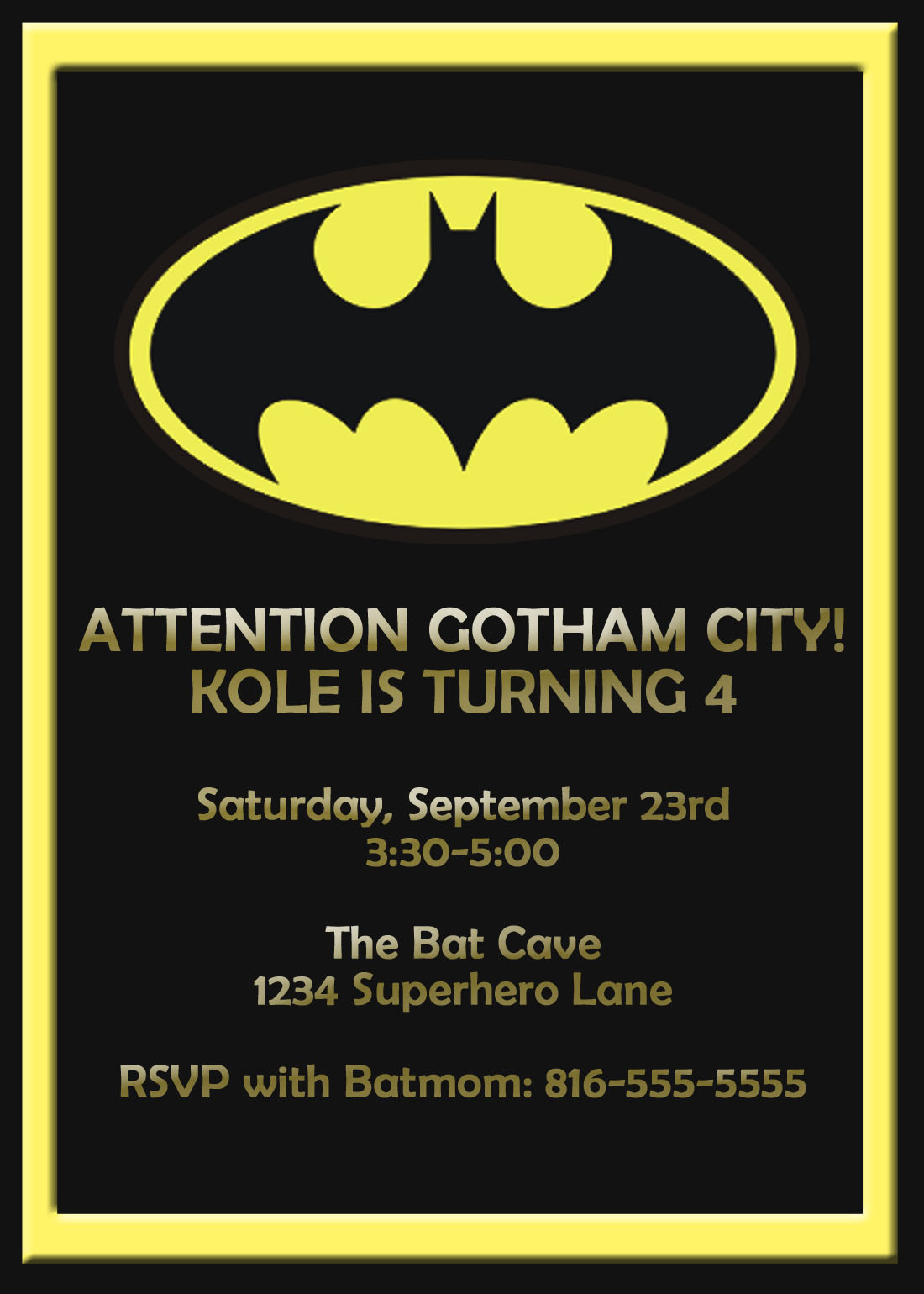 Superman Baby Shower Invitations with great invitations layout